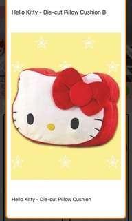 Toreba Prize Sanrio Hello Kitty Pillow Face Cushion