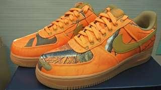 Nike Air Force 1 '07 LV8 3 Orange Blaze Wheat Realtree