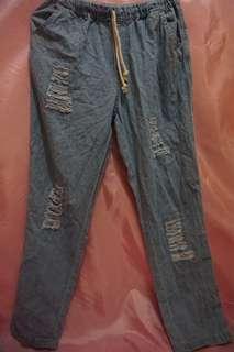 Boyfriend Jeans robek