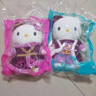 MacDonald France Couple Hello Kitty Soft Toy Limited Edition