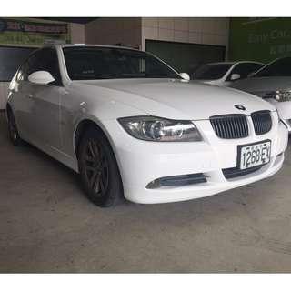 💕睿睿中古車💕2006年 BMW 325i 2.5白 有天窗