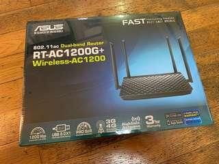 ASUS Dual-band Router RT-AC1200G+ Wireless-AC1200