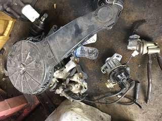 Karburetor wira 1.5 dengan distributor recon