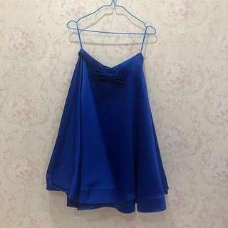 Plopherz blue skirt