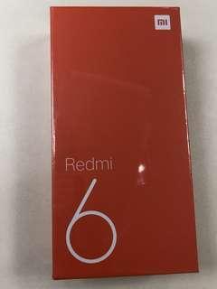 全新紅米6 64GM 黑色
