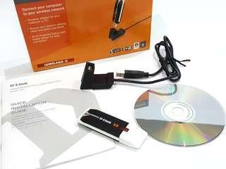 D-Link Rangebooster N USB AdapterS DWA-140