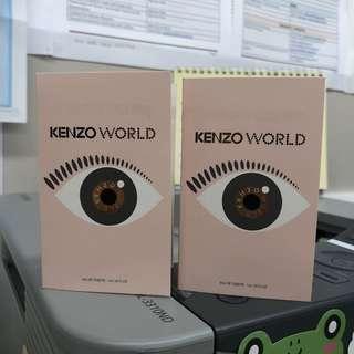 Kenzo World EDT eau de toilette L'eau De Toilette (1ml each)