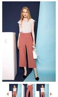 🚚 TheStageWalk Salmon Pink Straight Leg Pants