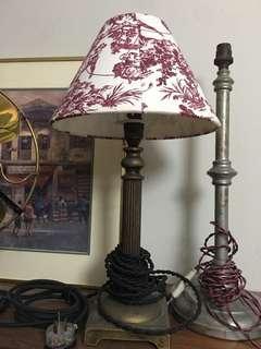 Brass antique lamp