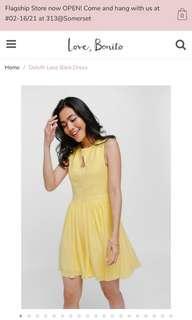 🚚 Size S Lovebonito Delyth Lace Back Dress