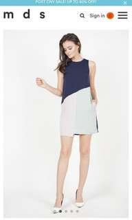 🚚 BNWT Size S MDS Aimilia Colourblock Dress