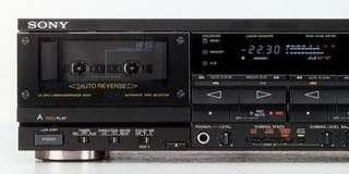 SONY TC-WR900 雙卡磁帶錄音卡座(冇聲,但可開機)