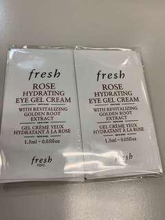 Fresh 玫瑰保濕水凝眼霜 13.5ml