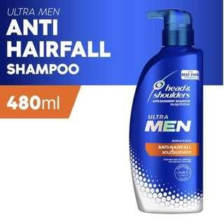 ULTRA MEN 'Anti-Hairfall' Shampoo