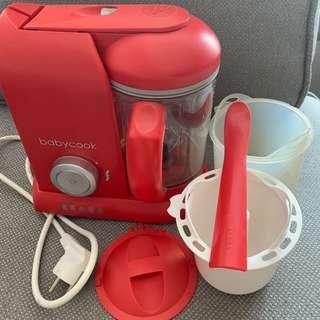 Beaba babycook solo red penanak nasi blender steamer mpasi