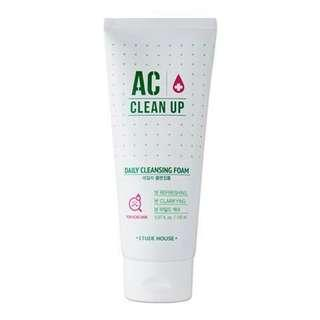 Etude House - AC Cleanup daily cleansing foam