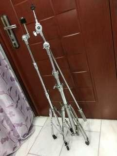 2 Cymbal Stands(Boom & Straight)