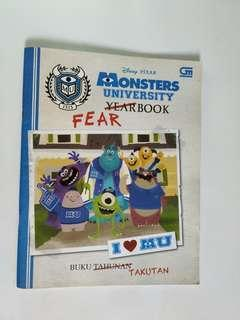 Monster University Fear Book