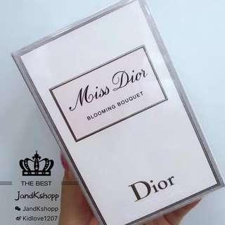 SALE!(專櫃)Christian Dior MISS DIOR Blooming Bouquet Eau de Toilette Spray 花漾甜心淡香水 100ml