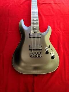 Schecter Guitar C-7 SLS Elite Evil Twin