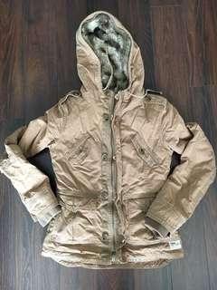 Aritzia TNA faux fur jacket