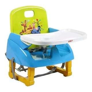 好孩子 攜帶式可調節增高餐椅