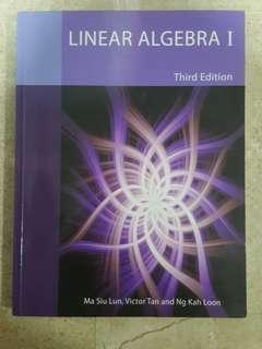 MA1101R Linear Algebra I Textbook (3rd edition)