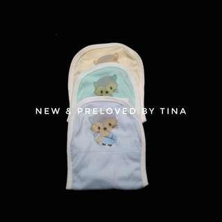 🌼 PRELOVED LIKE NEW 🌼 . MIYO 3pcs Popok Kain Tali Motif Baby Lion .