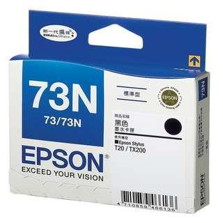 🚚 【EPSON】73N 原廠墨水匣 黑 藍 紅 黃