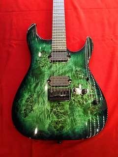 🚚 Schecter Guitar C-6 Pro Aqua Burst
