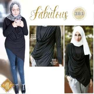 LIMITED EDITION🔥Blouse Atasan Cantik 381 Good Quality Real Pict