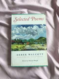 🚚 EN1101 Selected Poems of Derek Walcott