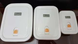 3pcs Food Containers