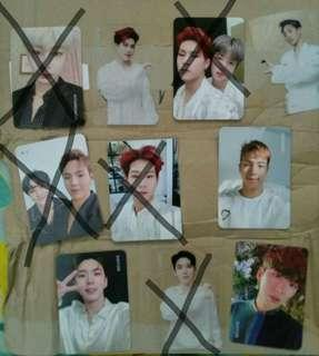 WTS/WTT MONSTA X WE ARE HERE PHOTOCARD