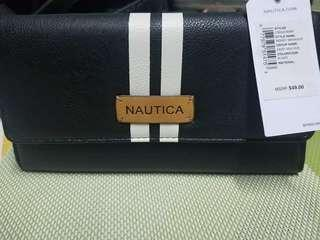 Nautica Wallet with RFID protection