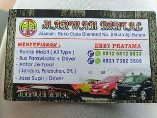 Rent car BATAM