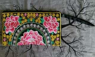 colorful pouch / wallet