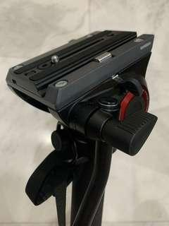 Manfrotto monopod with fluid head