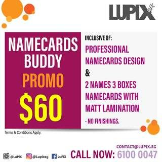 NAMECARDS/BUSINESS CARDS PRINT PROMO