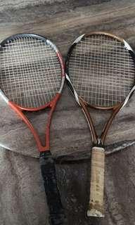 網球拍兩隻五百