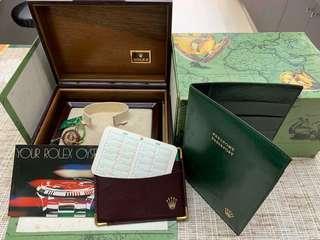 Classic Rolex watch box 勞力士錶盒