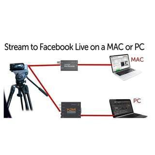 Audio Visual Live Casting