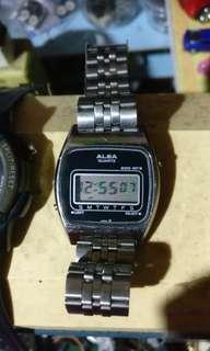 Alba vintage 1977 watches