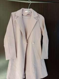 外套+罩衫