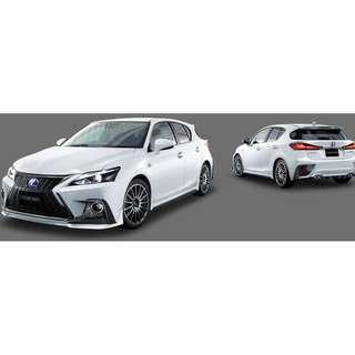 "Lexus CT ""F Sport"" TRD Bodykit"