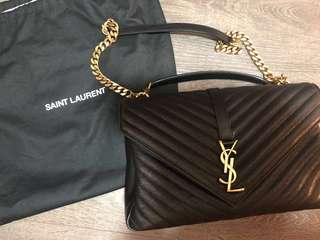 YSL Classic Large College Bag