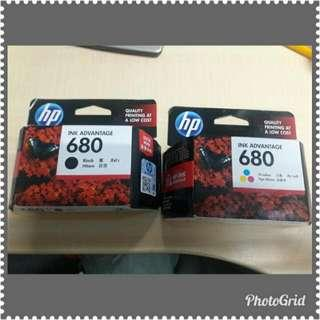 HP 680 Black and colored (BRAND NEW!)