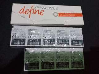 Soft lense Acuvue Define -6.5
