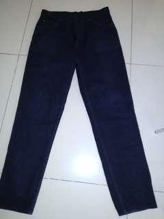 Pants Navy  Blue