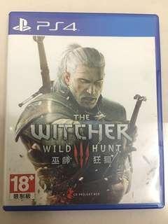 🚚 PS4 巫師3 witch hunter III 狂獵 中文 中文版 中英文合版 光碟無刮